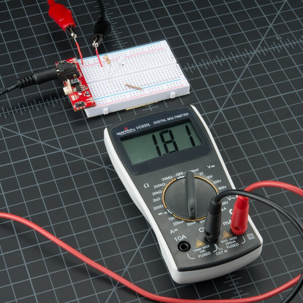 Measuring Current With Multimeter