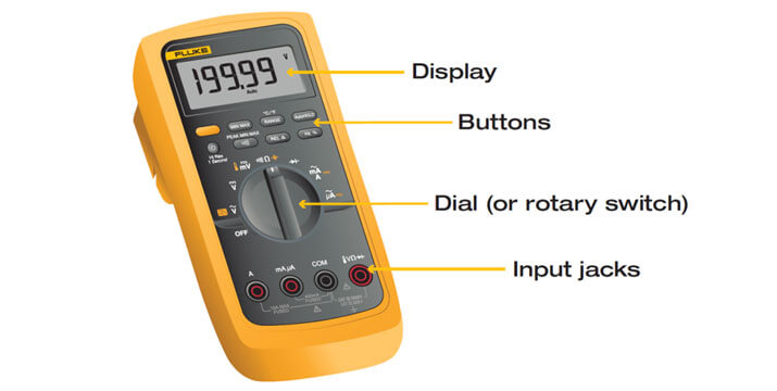 What Are The Parts Of A Multimeter?