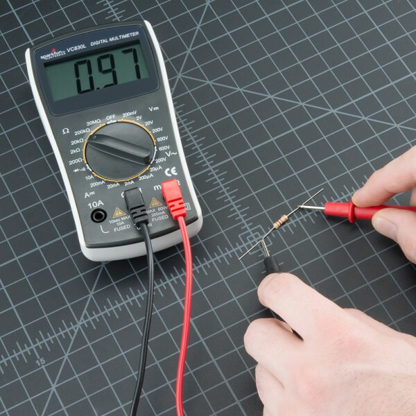 Using Multimeter To Measure Resistance