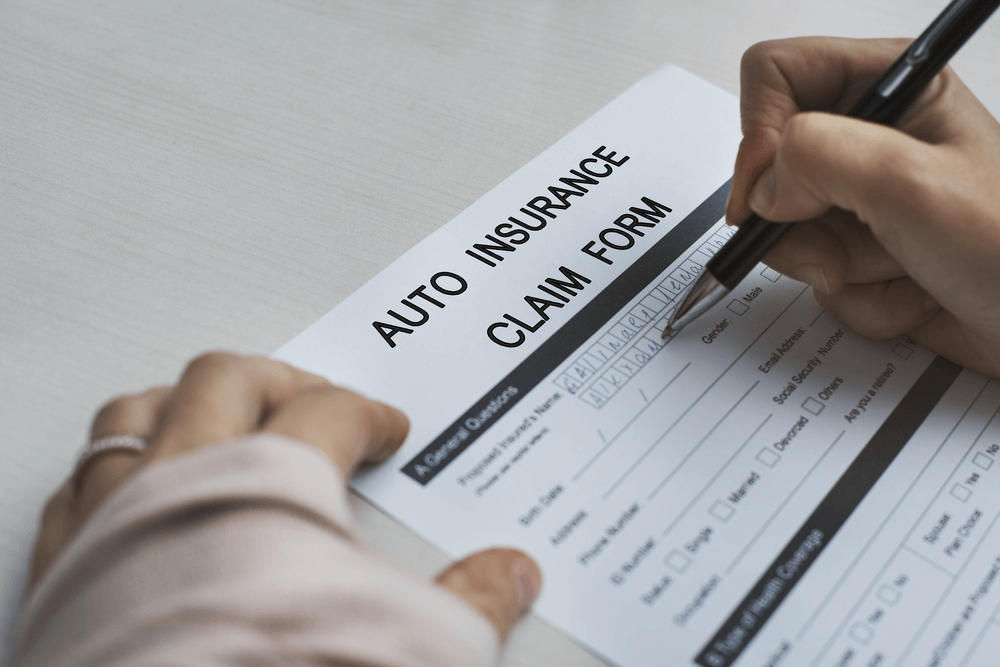 Fill Out the Car Insurance Claim Form