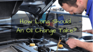 How long does it take to change oil?