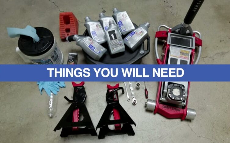 Tools To Do An Oil Change