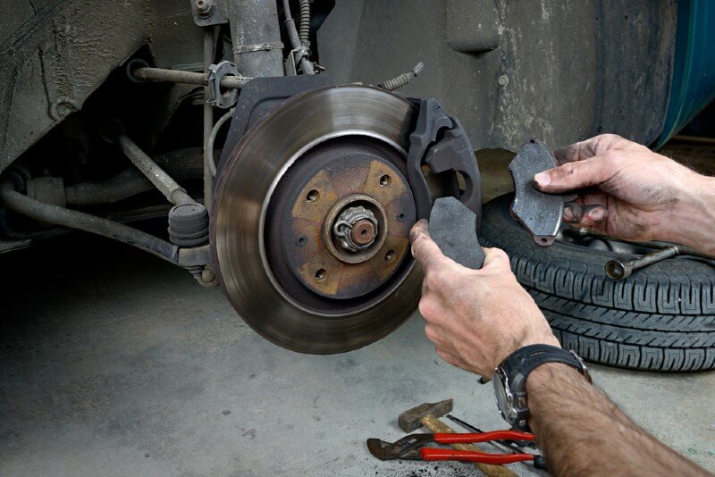 Changing your brake pads