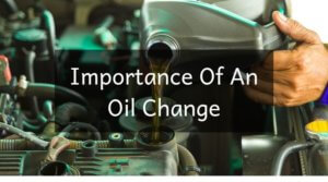 Importance Of An Oil Change