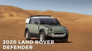 The New 2020 Land Rover Defender