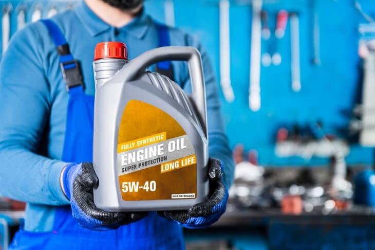 Choosing 5W-40 oil for your car in the winter
